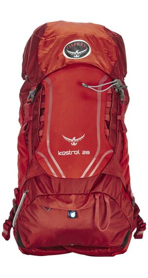 Osprey Kestrel 28 - Mochilas Hombre - rojo